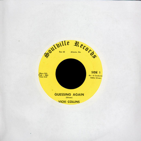 Vicki Collins - Guessing Again / I'm Better