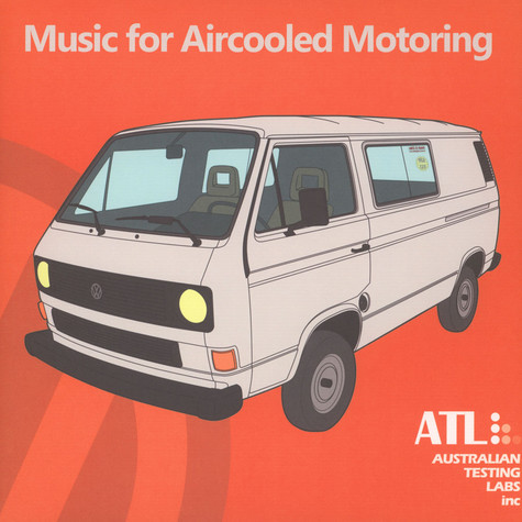 Australian Testing Labs - Music For Aircooled Motoring Black Vinyl Edition