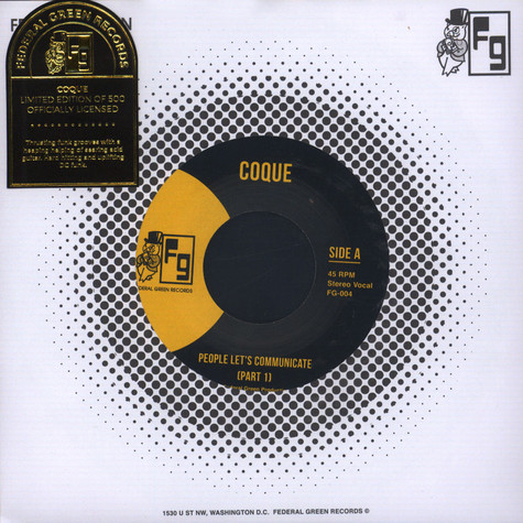 Coque - People Let's Communicate