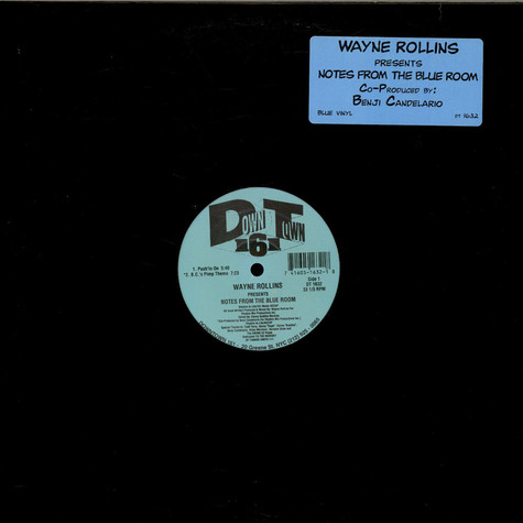 Wayne Rollins - Notes From The Blue Room