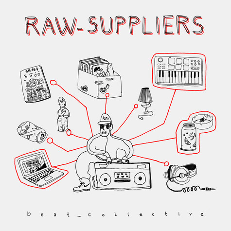 Raw Suppliers - beat_collective Black Vinyl Edition