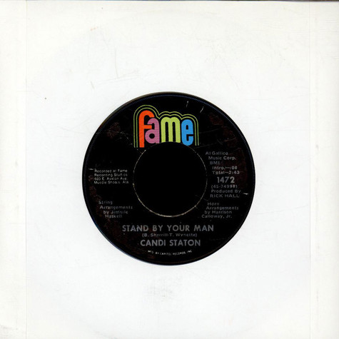 Candi Staton - Stand By Your Man / How Can I Put Out The Flame