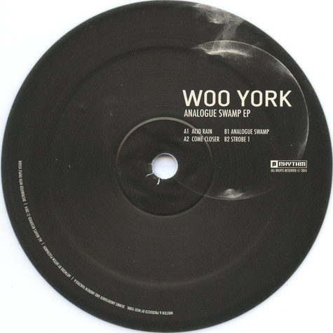 Woo York - Analogue Swamp EP