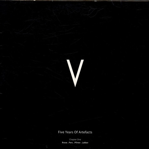 V.A. - V - 5 Years Of Artefacts Chapter One