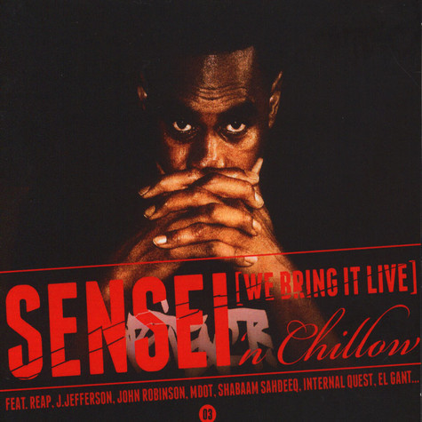 El Da Sensei 'N Chillow - We Bring It Live