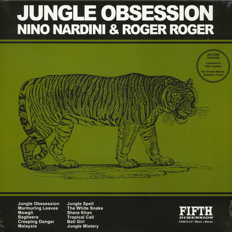 Nino Nardini & Roger Roger - Jungle Obsession
