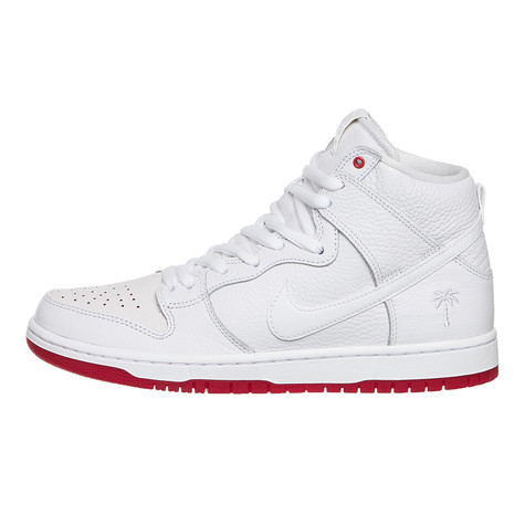 hot sale online 81add 08966 Nike SB x Kevin Bradley. Zoom Dunk High Pro QS (White   White   University  Red)