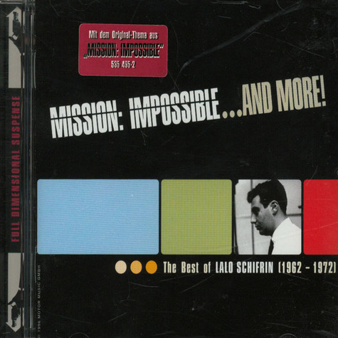 Lalo Schifrin - Mission: Impossible ... And More!