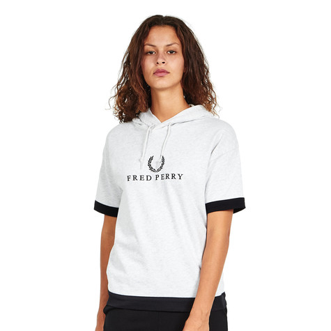 Fred Perry - Embroidered Hooded Sweat