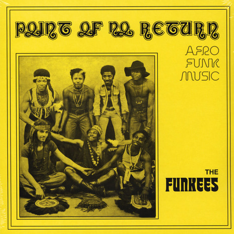 Funkees, The - Point Of No Return - Afro Funk Music Nigerian Cover Edition
