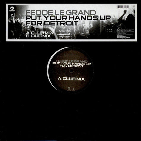 Fedde Le Grand - Put Your Hands Up For Detroit