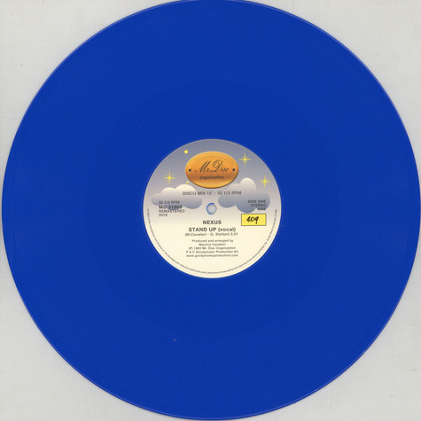 Nexus - Stand Up Blue Vinyl Edition