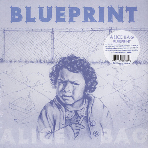 Alice Bag - Blueprint Black Vinyl Edition