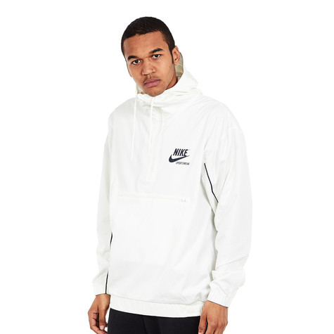 Nike - NSW Jacket Hoodie Woven Archive (Sail   Obsidian   Obsidian ... e56cfe4cd