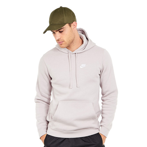 735ce1f2a39d Nike - Club Hoodie (Particle Rose   Particle Rose   White)