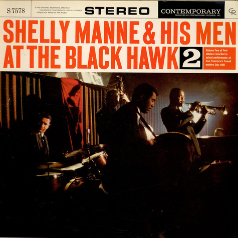 Shelly Manne & His Men - At The Black Hawk, Vol. 2