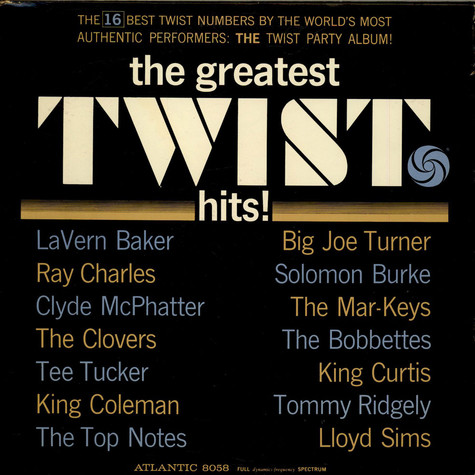 V.A. - The Greatest Twist Hits!