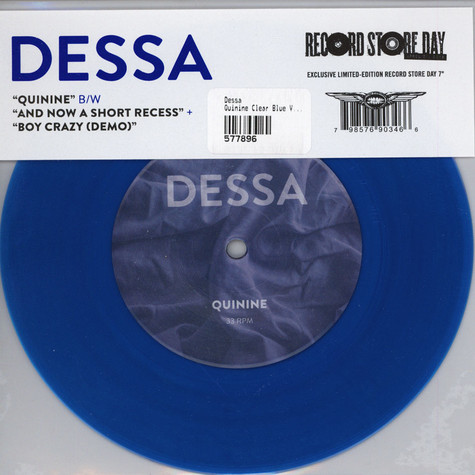 Dessa - Quinine Clear Blue Vinyl Edition