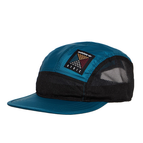 adidas - 5 Panel Cap (Real Teal   Black)  854d195a06d