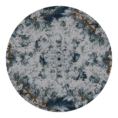 "White Peach Records - Foliage 12"" Slipmat"