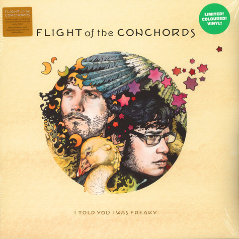 Flight Of The Conchords - I Told You I Was Freaky Light Green Vinyl Edition