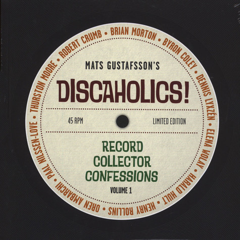 Discaholics - Record Collector Confessions Volume 1