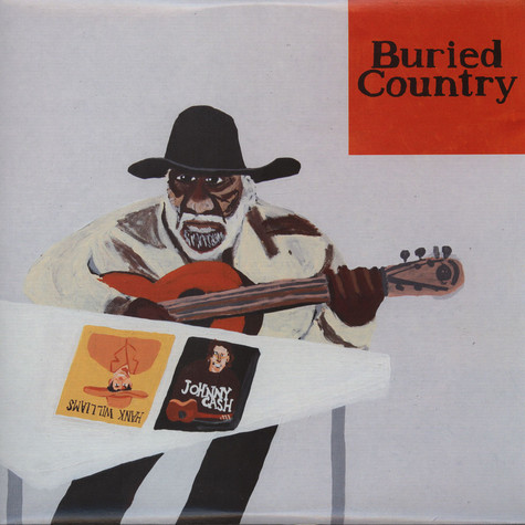 V.A. - Buried Country - An Anthology Of Aboriginal Country Music