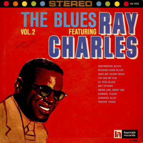 Ray Charles - The Blues Featuring Ray Charles Vol. 2