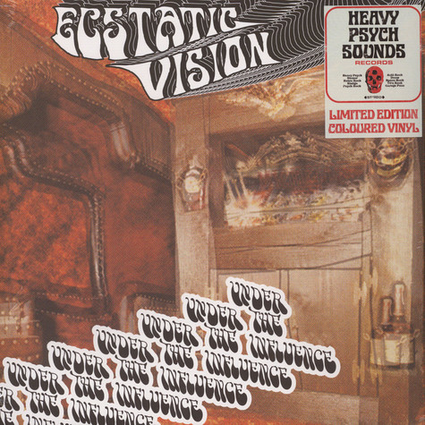Ecstatic Vision - Under The Influence Colored Vinyl Edition
