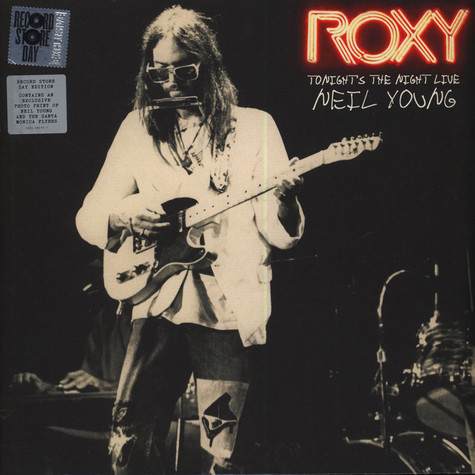 Neil Young - ROXY: Tonight's The Night Live RSD 2018 Edition