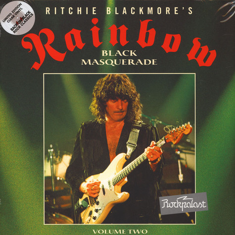 Rainbow - Rockpalast 1995 - Black Masquarade Volume 2 Clear Vinyl Edition