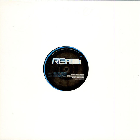 Refunk - Glade Belter / It's Groovey