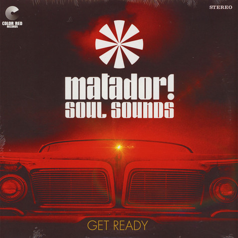 Matador! Soul Sounds - Get Ready Red Vinyl Edition