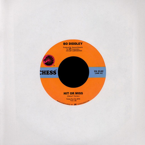 Bo Diddley - Hit Or Miss / Hey, Jerome