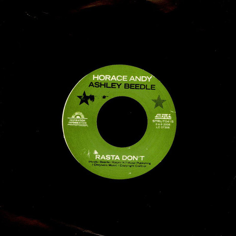 Horace Andy & Ashley Beedle - Rasta Don't