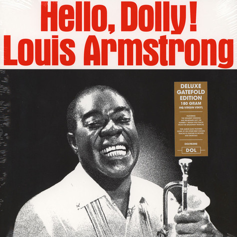 Louis Armstrong And The All-Stars - Hello Dolly Gatefolsleeve Edition