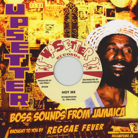 Ethiopians / King Cannon - Not Me / Fire Ball