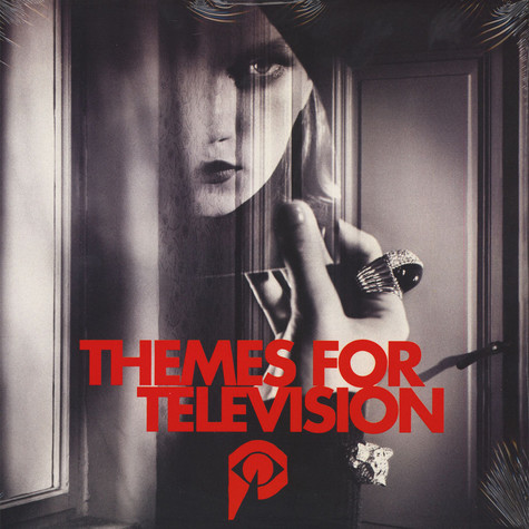 Johnny Jewel - Themes For Television Cherry Pie Colored Vinyl Edition