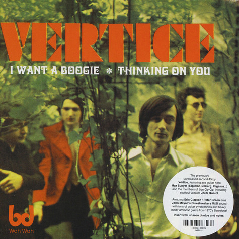 Vertice - I Want A Boogie / Thinking On You