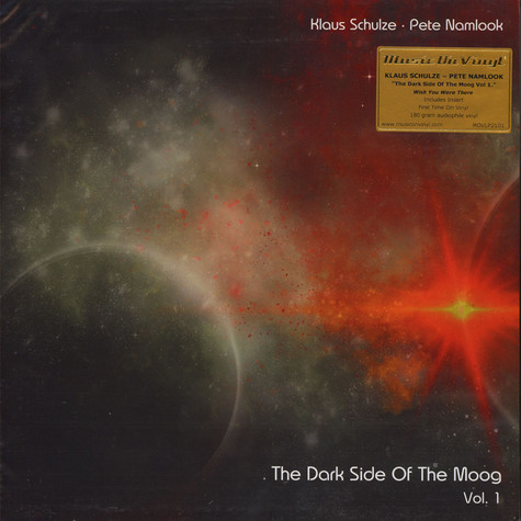 Klaus Schulze & Pete Namlook - The Dark Side Of The Moog Vol 1.: Wish You Were Here