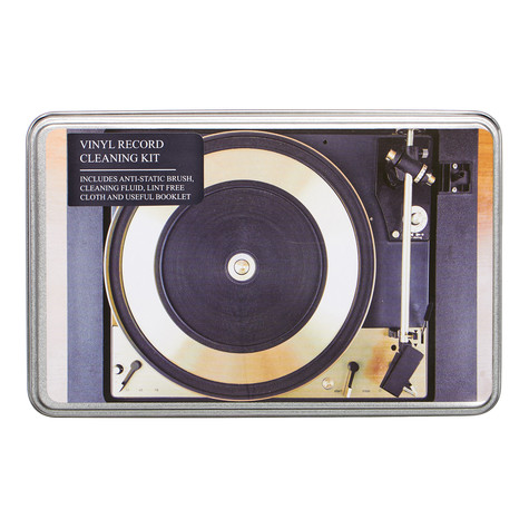 Record Cleaner - Vinyl Record Cleaning Kit (incl. Book)