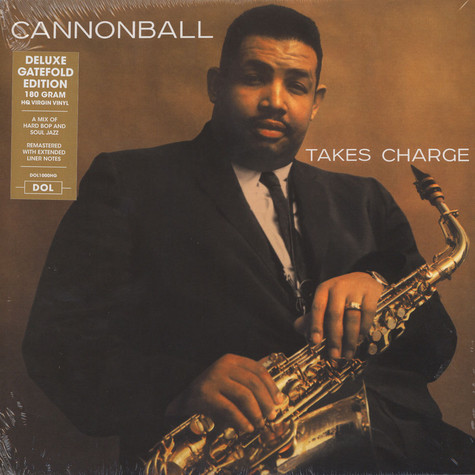 Cannonball Adderley Quartet - Cannonball Takes Charge Gatefold Sleeve Edition