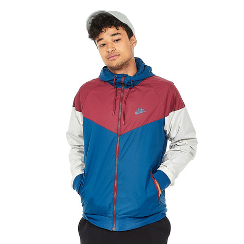 Nike - Sportswear Windrunner Jacket (Blue Force   Team Red   Blue ... 04fc6cf6a