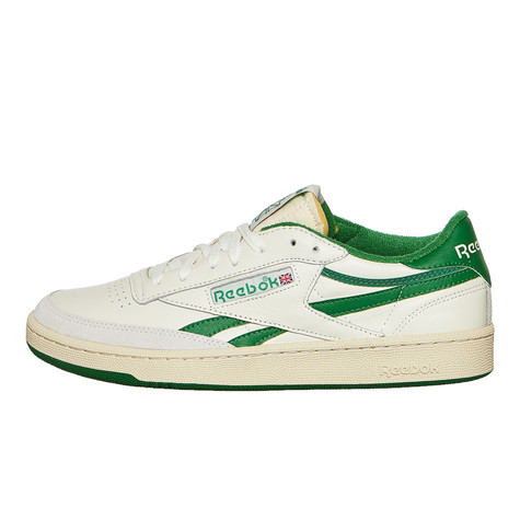 9d2d6202f7a2 Reebok - Revenge Plus Vintage (Chalk   Paperwhite   Glen Green   Excellent  Red)