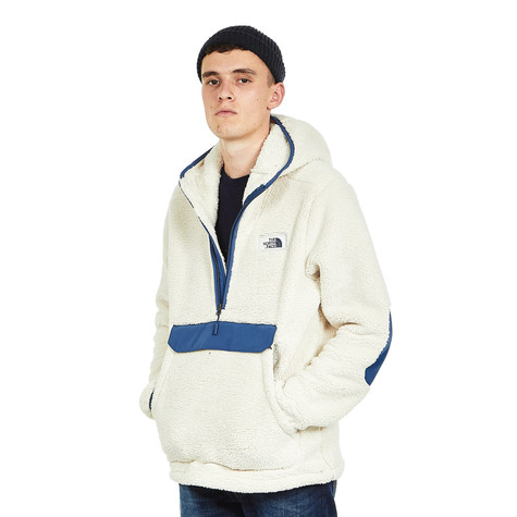 5a7147a71ccc The North Face - Campshire PO Hoodie (Vintage White   Shady Blue)