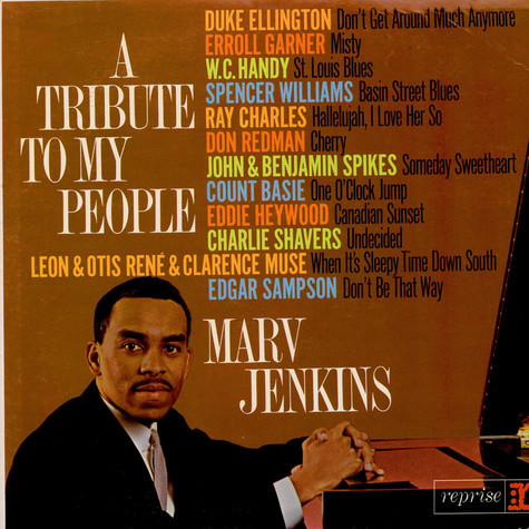Marvin Jenkins - A Tribute To My People