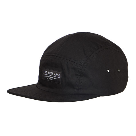 ecf98367c15ff The Quiet Life - Foundation 5 Panel Camper Hat (Black)