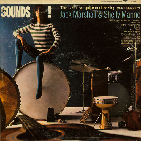 Jack Marshall & Shelly Manne - Sounds!