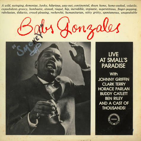 Babs Gonzales - Live At Small's Paradise