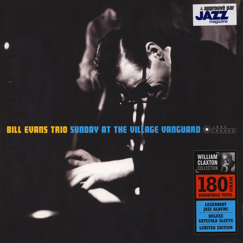 Bill Evans Trio - Sunday At The Village Vanguard Gatefold Sleeve Edition
